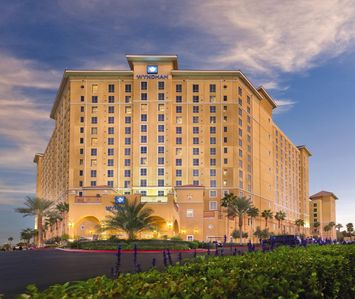 The Wyndham Grand Desert...your home away from home...and close to the strip!