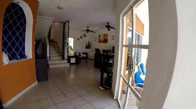 Photo for Luxury 3 Bed 3 Bath home with pool 5 min walk to beach.