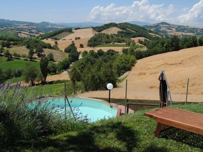 Photo for Private house with private pool and a large fenced garden. Pet friendly