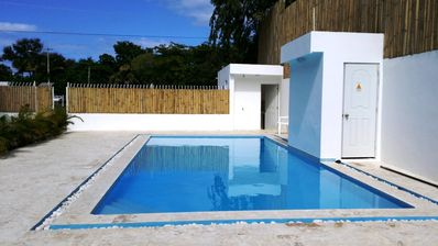 Inexpensive 1-BD Condo in the Heart of Sosua, Guest-Friendly, Cable TV, Internet