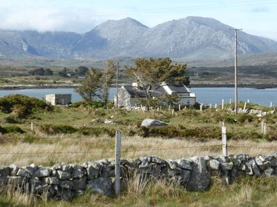 Photo for Foden's Cottage is a family holiday home on a remote peninsula in Connemara