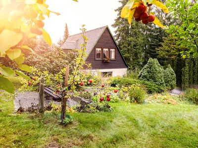 Photo for Romantic holiday home in quiet location near forest's edge - near Dresden