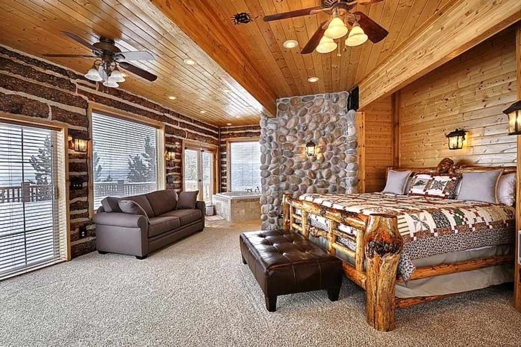 timber moose lodge largest private log cabin in usa big