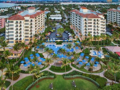Photo for Ocean Pointe Two bedroom- the glitz & glamour of Palm Beach Shores