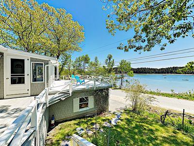 Photo for Harbor Haven w/ Bay Views & Sunroom - Walk to Town Dock & Village Green!