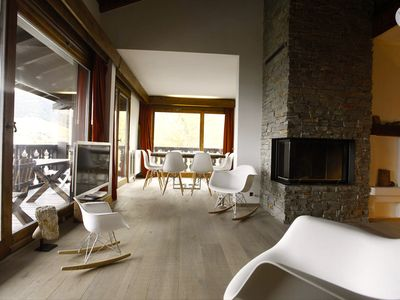 Photo for MEGEVE duplex 6p./4ch./2 baths & 2 showers / 8 beds luxurious on the slopes