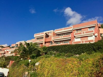 Photo for Terrasses de Cannes Mandelieu 3 pieces luxurious air-conditioned sea view and Esterel