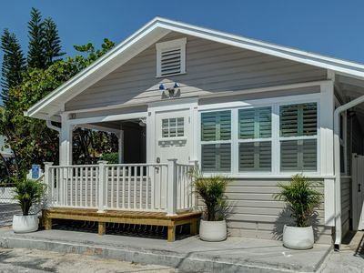 Photo for All NEW Historic Beach House 2BR/1BA Covered Porch w/View. A+ Location!