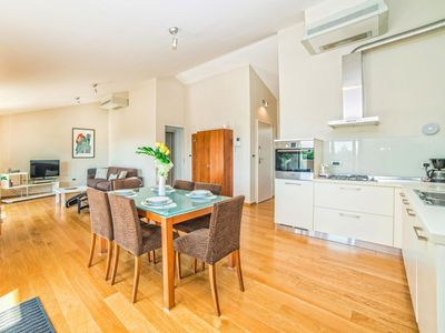 Photo for Lovely apartment for 6 guests with A/C, WIFI, TV and parking