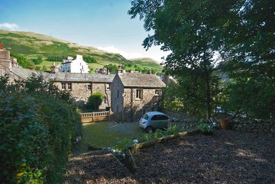 Garden to Winder Fell -offices to the front so private during evening & weekends
