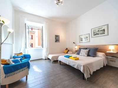 Photo for At Edi House, Vatican St. Peter, your cozy apartment in Rome