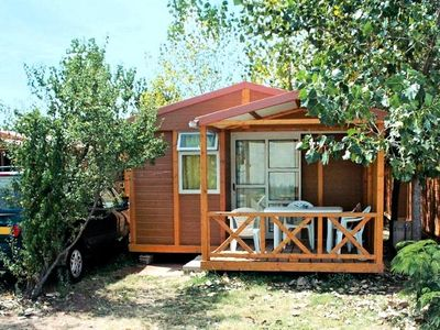 Photo for Camping Le Fréjus *** - Chalet Camel Confort 3 Rooms 3 People
