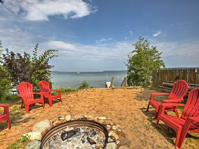 Photo for Studio Apt w/ Shared Beach-Steps to Suttons Bay!