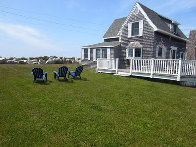 Photo for Kennebunk Beach - Oceanfront - Bright and Cheerful Family Beach House