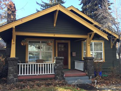 Photo for Classic cottage 3 blks to dwntwn Bend! HOT TUB, Fireplace, so walkable!