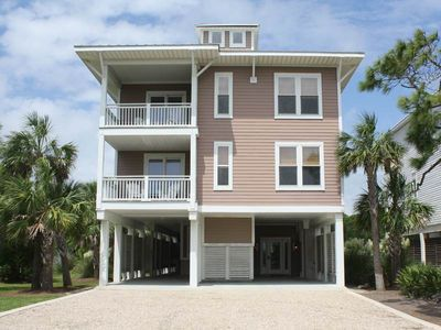 Photo for Gulf Views, Steps to the Beach, 6.5 bedrooms, 6.5 baths, Private Pool, Elevator
