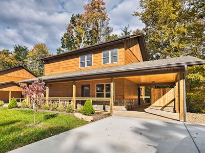 Photo for NEW! Downtown Gatlinburg Home w/Theater & Hot Tub