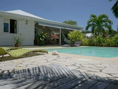 Photo for Luxury villa with sea view and swimming pool at the Diamond