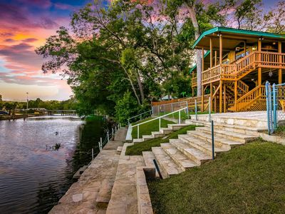 "Photo for ""River Front Float Away - New Braunfels, Guadalupe River,"""
