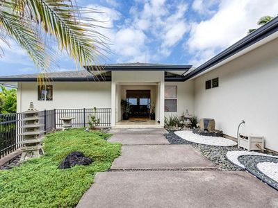 Photo for NEW LISTING! Modern ocean view home w/balconies, lanai & jet tub -close to beach