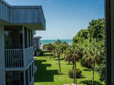 Views of the Gulf from out top floor condo