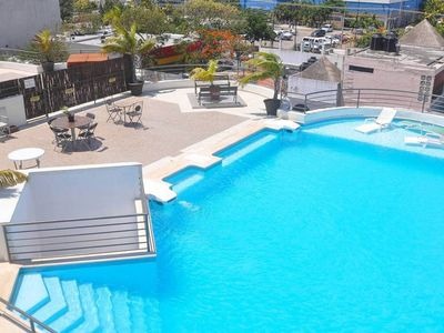 Photo for Spacious & Rooftop Pool - Paradise in Playa