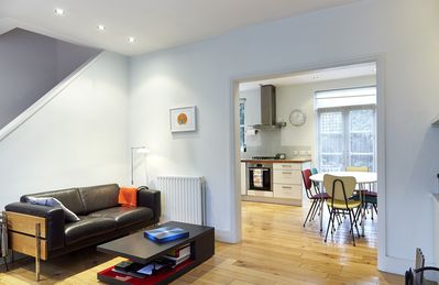 Photo for Charming 2 bed home. Reach King's Cross station in 10 minutes (Veeve)