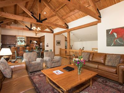 Photo for RMR: 4 BR Luxury Home, Walking distance to ski run, private hot tub + Free Fun!