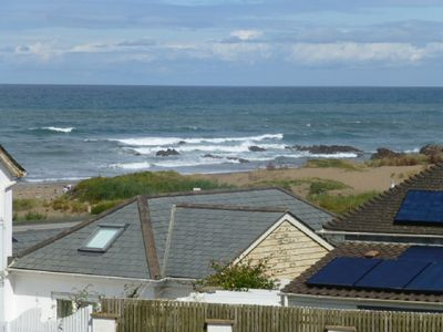 Photo for Bungalow, 200 meters from the beach and Cornish Coastal path