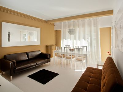 Photo for Apartment in the center of Sitges with Internet, Air conditioning, Lift, Balcony (913797)