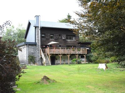 Photo for Chalet renovated with great care, large garden, direct access to the river