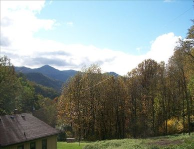 Enjoy tranquil mountain views from your private 18 acres
