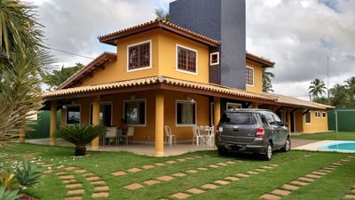 Photo for Excellent house, on the best beach of Itacimirim.