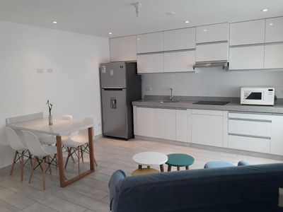 Photo for New! Very Modern Apartment in Quiet Part of Barranco
