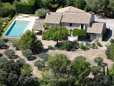 Photo for Luxury Provence Villa Rental - A/C, Heated Pool, Short walk to village, WiFi