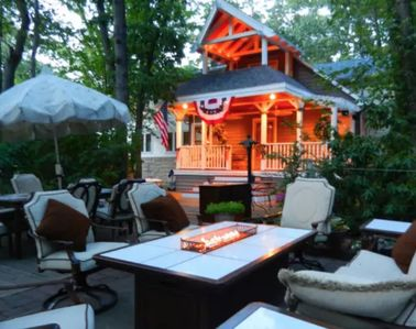 Photo for Gigantic Beach House -  Chalet-Style Porch