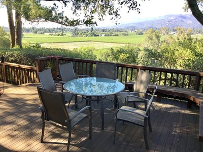 Photo for Incredible Views: 2 miles from Downtown St. Helena with hot tub