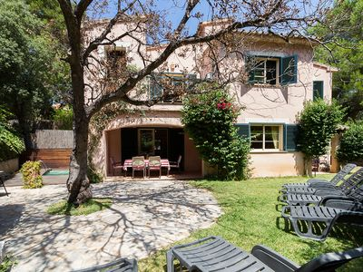 Photo for Finca Botana is a homely two storey corner terrace house, with three bedrooms, a private garden and