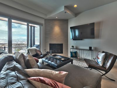 Photo for NEW Luxury Townhome Steps from Lift, Views w Private Garage