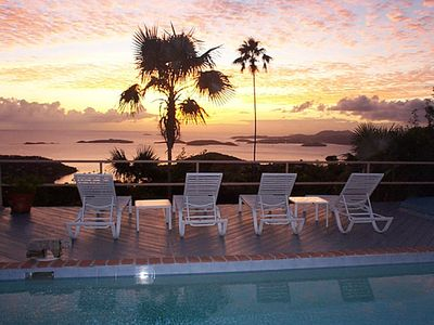 Photo for Cloud Nine! Spectacular Water/Sunset Views, Privacy, Pool, Spa, near town/beach