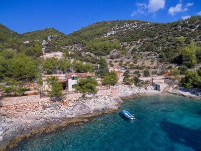 Photo for Secluded fisherman's cottage Cove Golubinka bay - Golubinka (Hvar) - 14344