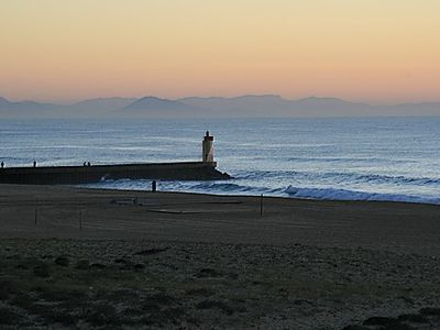 Photo for <- DIRECT on this BEACH, BRIGHT; SEA VIEW; T2 **** 42m2 + TERRACE + garage WIFI