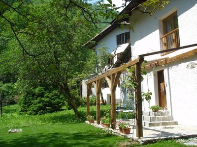 Photo for Beautifully Restored Cottage In Idyllic Location In Emerald Soca Valley