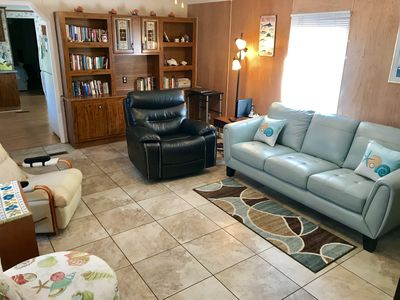 Photo for Family/Dog Friendly Home 1.5 Blocks from White Sand Beach!