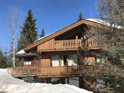 Photo for Courchevel 1850 in the 3 Valleys heart - warm Apt 3 stars in a chalet