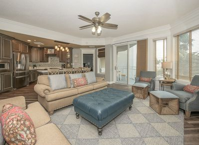 Living Room and Kitchen at 2112 SeaCrest