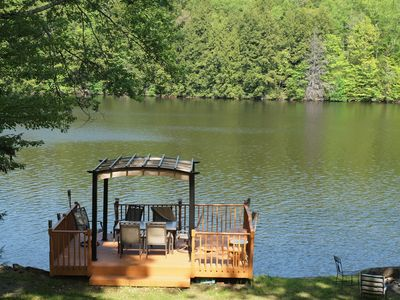 Photo for Spectacular 5 Bedroom Lakefront Villa nestled in the heart of the Catskills
