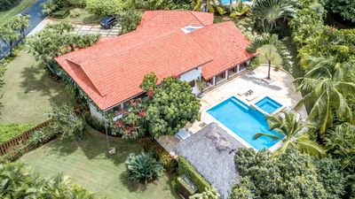 Photo for Casa Bella 4 Bedroom Villa, Oceanviews,  Steps from Minitas Beach