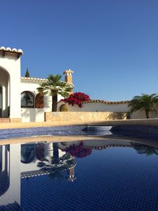 Photo for Top equipped villa with private pool, wifi and large shaded terrace