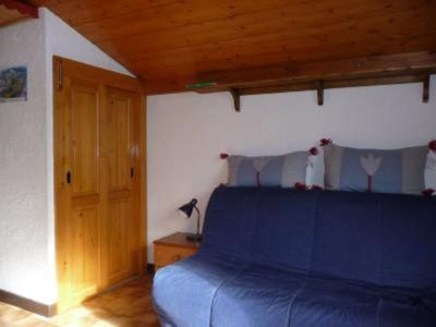 Photo for Delightful studio in the south of CHAMONIX view on Mount-white,ambiance mountain tranquilizes